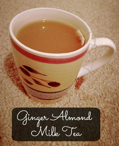how to make tea with milk and ginger